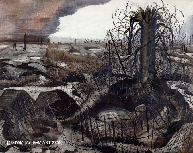 The Wire by Paul Nash