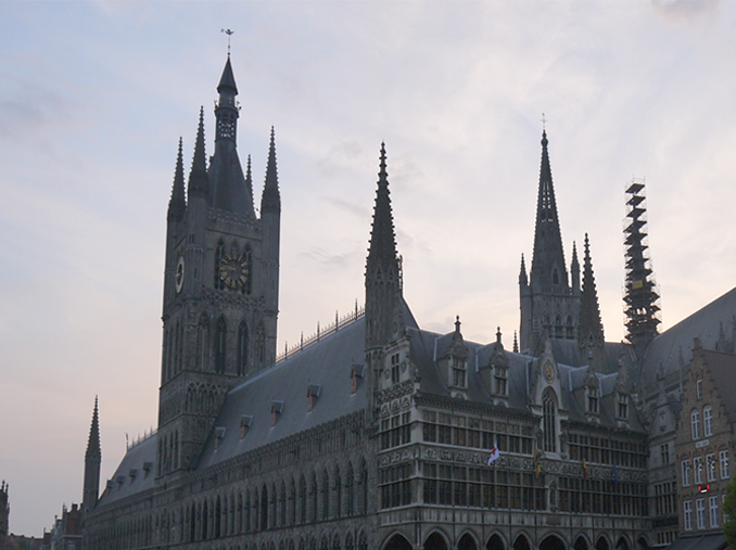 Ypres Cloth Hall in 2014